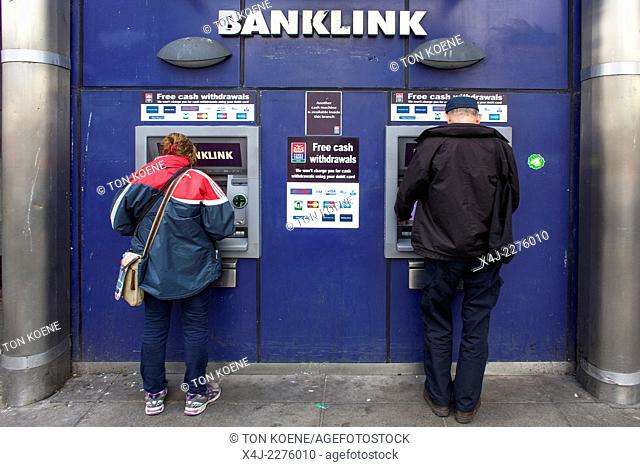 ATM machine in Northern Ireland