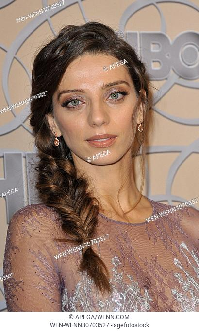 HBO Golden Globes 2017 After Party - Arrivals Featuring: Angela Sarafyan Where: Los Angeles, California, United States When: 09 Jan 2017 Credit: Apega/WENN