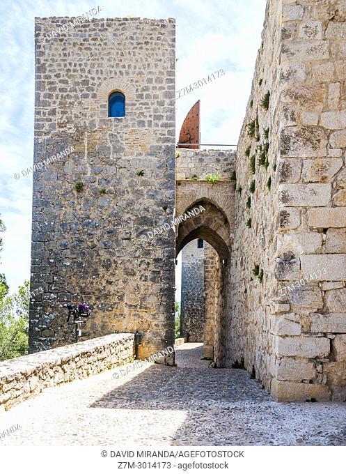 Santa Catalina castle. City of Jaen. Andalusia. Spain