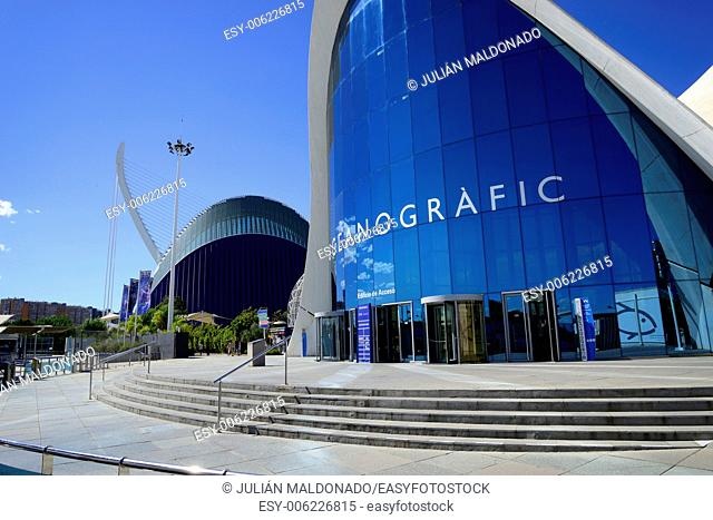 Oceanography of the City of Arts and Sciences in Valencia, Spain