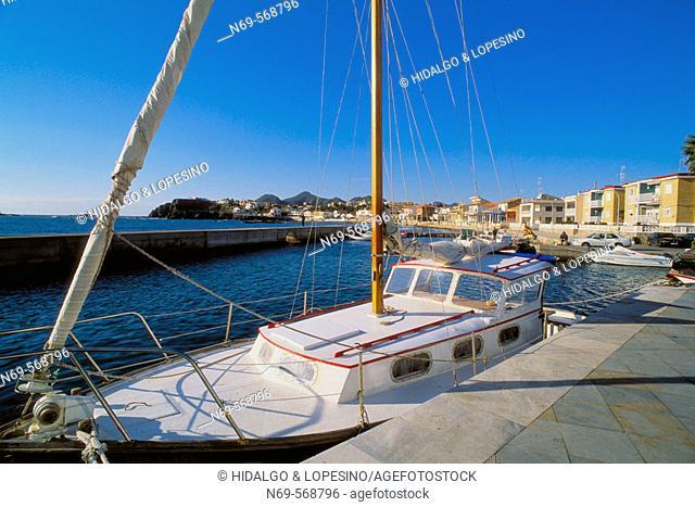 Harbour. Cabo de Palos. Murcia province. Spain