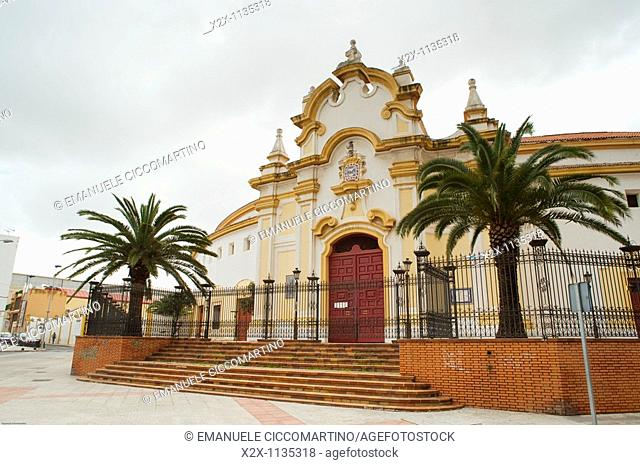 Bullfight arena, Melilla, Spain