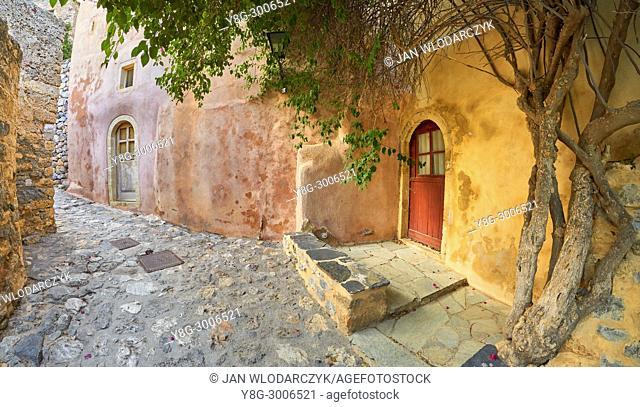 Monemvasia medieval town, Peloponnese, Greece