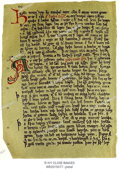 Eddas - Oldest Handwritten Text