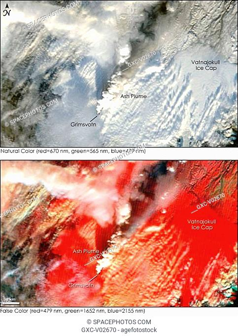 Buried under Europe's largest glacier, the Grimsvotn Volcano started to erupt on November 2, sending a plume of ash into the atmosphere that forced official to...
