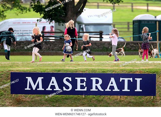 Gloucestershire Festival of Polo at Beaufort Polo Club in Westonbirt, Gloucestershire. Featuring: Mia Tindall Where: Westonbirt, Gloucestershire