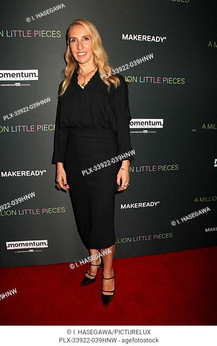 """Sam Taylor-Johnson 12/04/2019 The Los Angeles Special Screening of """"""""A Million Little Pieces"""""""" held at The London West Hollywood at Beverly Hills in West..."""