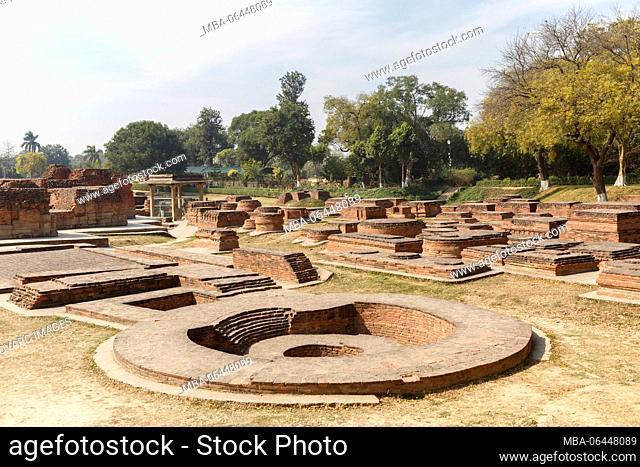 Sarnath Temple, Varanasi, Uttar Pradesh, India