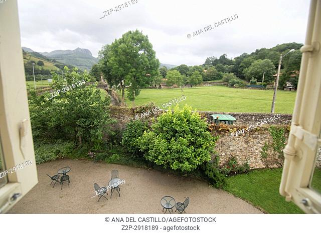 Lierganes village Pasiegos valley Cantabria Spain