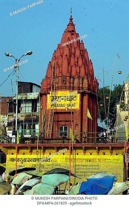 prayag ghat, varanasi, uttar pradesh, India, Asia