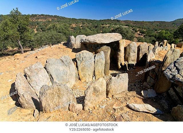 Dolmens of El Pozuelo, Zalamea La Real. Huelva province, Region of Andalusia, Spain, Europe