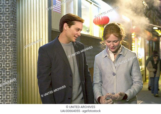 SPIDER-MAN 2 / USA 2004 / Sam Raimi Spider-Man / Peter Parker (TOBEY MAGUIRE) und Mary Jane Watson (KIRSTEN DUNST) Regie: Sam Raimi / SPIDER-MAN 2 USA 2004