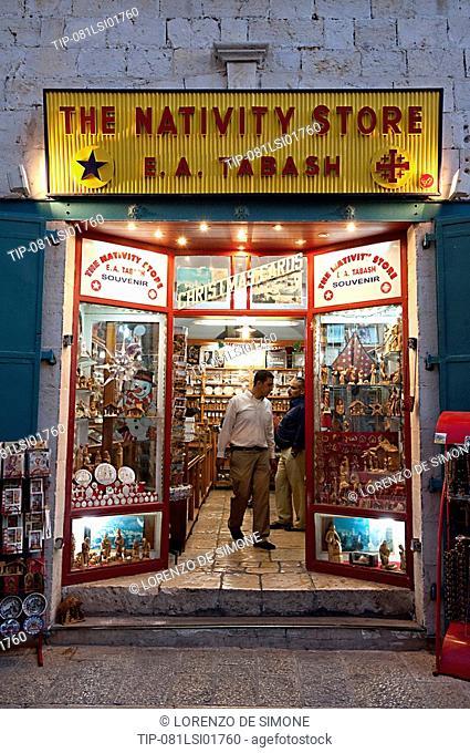 Isreal, West Bank, Bethlehem, The Nativity store