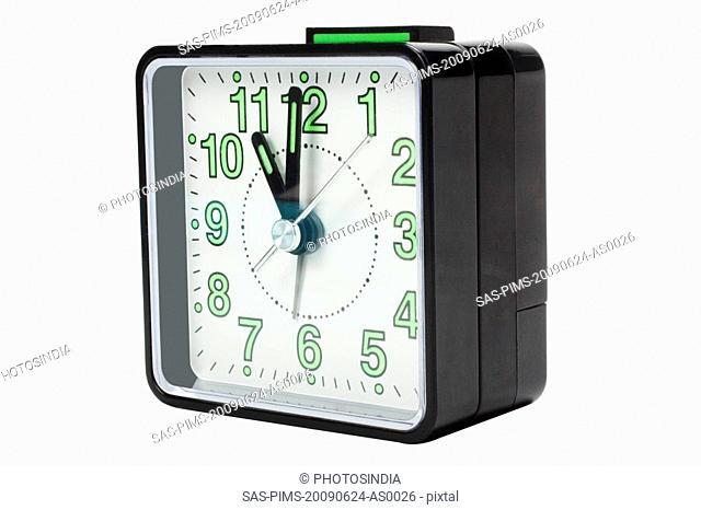 Close-up of an alarm clock