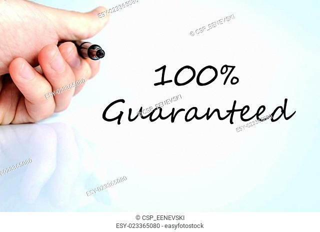 Guaranteed concept