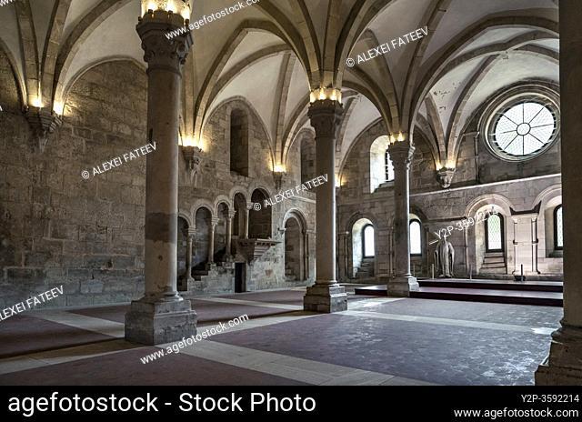 Refectory at the Monastery Santa Maria de Alcobaça, Portugal