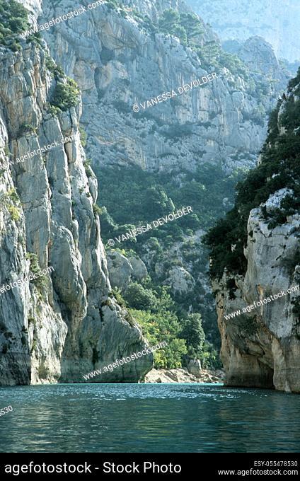 Gorges du Verdon. Country: France, Region: Le Var