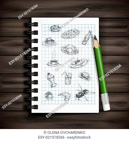 Set of Hand Drawn Various Elements