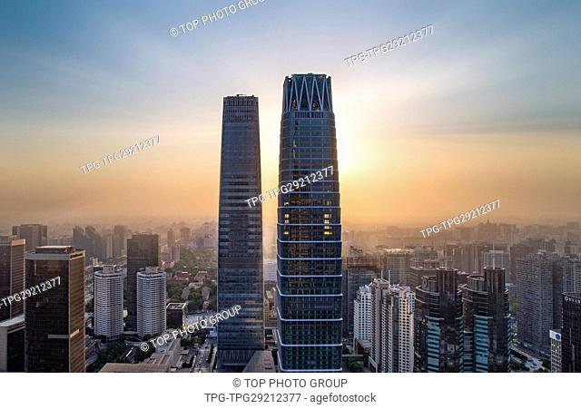 China World Trade Center Tower; Beijing; China