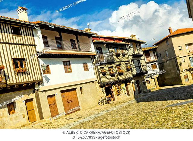 Traditional Architecture, Medieval Town, Historic Artistic Grouping, Spanish Property of Cultural Interest, La Alberca, Salamanca, Castilla y León, Spain