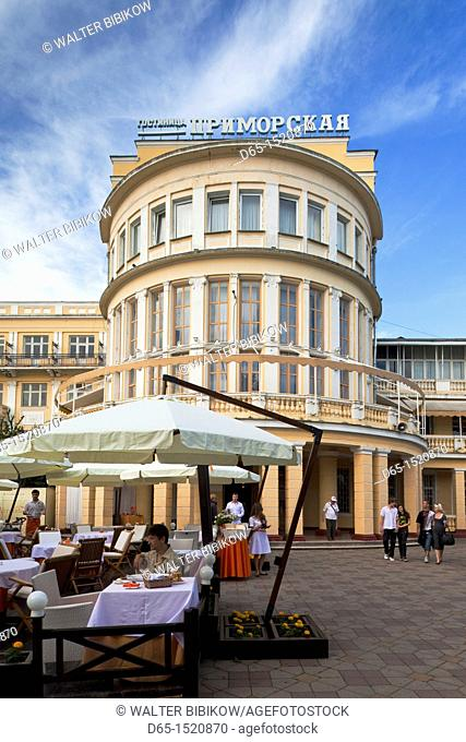 Russia, Black Sea Coast, Sochi, Primorskaya Hotel