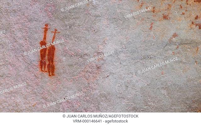 Sevilla Bushman Rock Art Trail, Clanwilliam, Cederberg Mountains, Western Cape province, South Africa, Africa