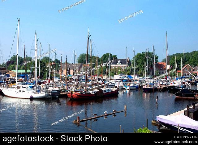Spaarndam Harbour, the Netherlands