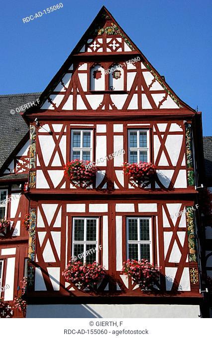 Historical town hall Nassau Rhineland-Palatinate Germany
