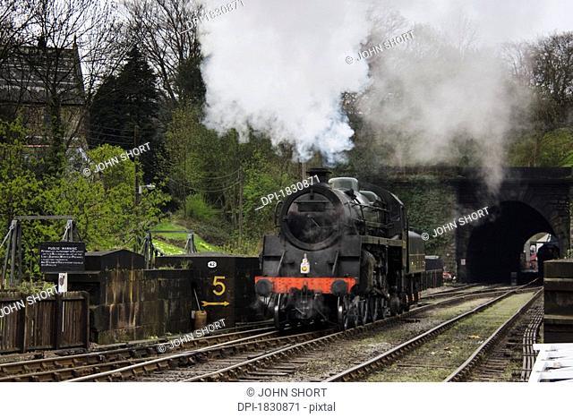 Train, Grosmont, Yorkshire, England