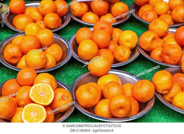 Mandarin oranges,Mandarines-Citrus reticulata