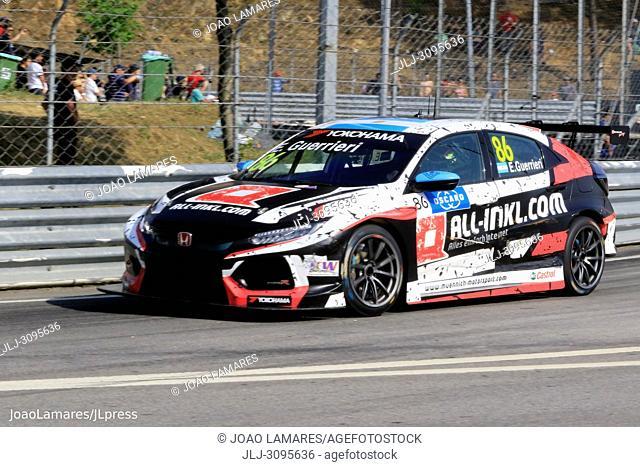 E. Guerrieri, Honda Civic Type R TCR #86, WTCR Race of Portugal, Vila Real 23-25 de June 2018