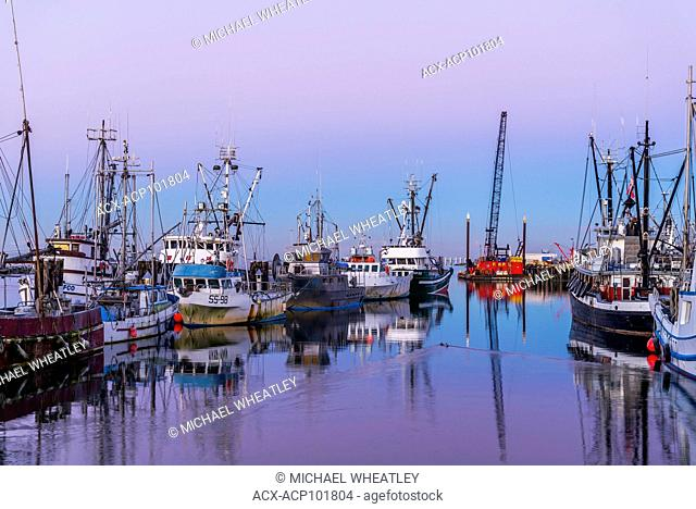 Fishing boats, , Steveston, Richmond, British Columbia, Canada