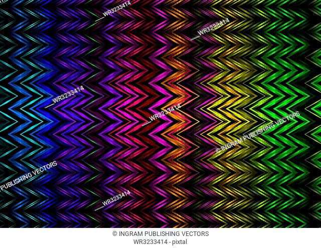 abstract rainbow background with zig zag lines ideal desktop
