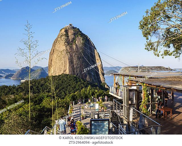 Sugarloaf Mountain Cable Car Station, Rio de Janeiro, Brazil