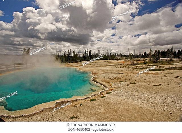 West Thumb Geyser Basin, Yellowstone National Park, Wyoming, USA