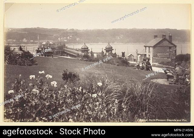 Bangor, Garth Pleasure Grounds and Pier - 1860/94 - Francis Bedford English, 1816-1894 - Artist: Francis Bedford, Origin: England, Date: 1860-1894
