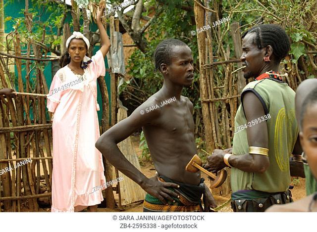 Turmi Tribe, Dimeka, Omo River Valley, South Ethiopia, Africa