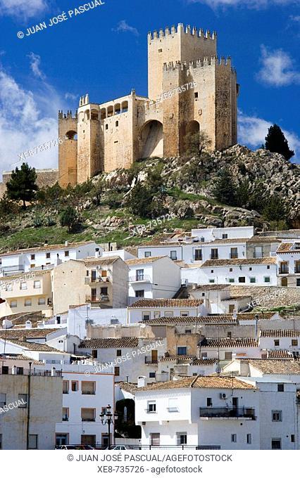 Castle of the Marquis of Velez, Velez-Blanco. Almeria province, Andalucia, Spain