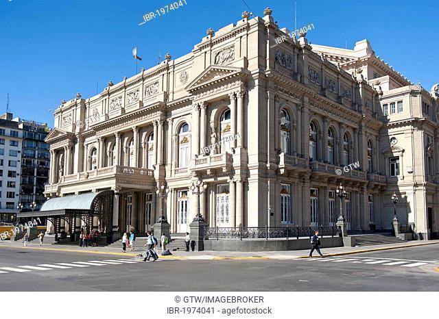 Teatro Colon, opera house, Buenos Aires, Argentina, South America