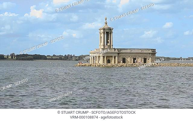 The Normanton Church Museum at Rutland Water, Nr Oakham Leicestershire, England, UK