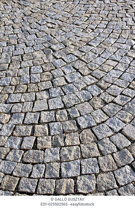 Cobble Stone Road Outdoor Background Texture