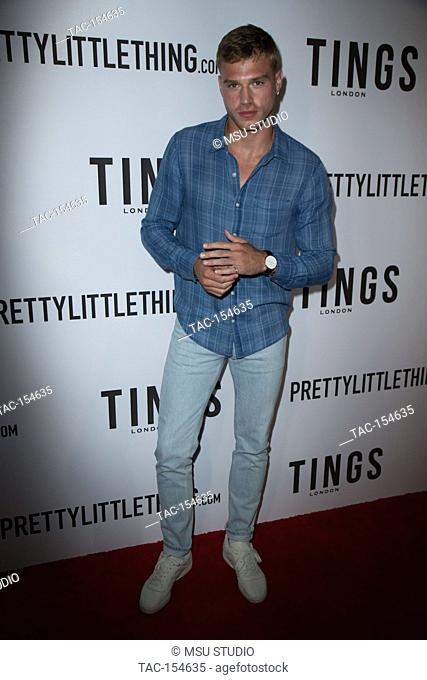 "Matthew Noszka attends the """"Secret Party"""" launch of TINGS London Magazine at Nightingale on August 23, 2017 in Los Angeles, California"