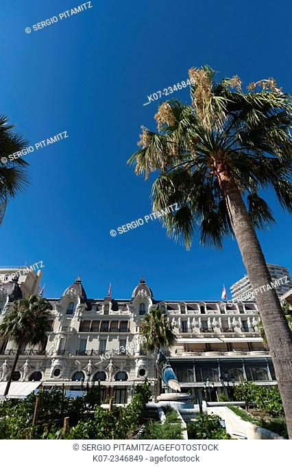 Hotel de Paris, Place du Casino, Montecarlo, Principauté de Monaco