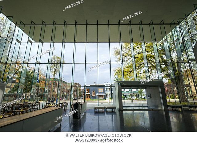 Canada, Quebec, Quebec City, Musee National des Beaux-Arts du Quebec, MNBAQ, pavillon Pierre-Lassonde, 2016, interior