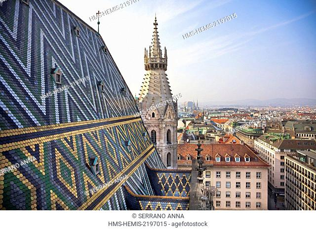 Austria, Vienna, St, Stephens' Dome