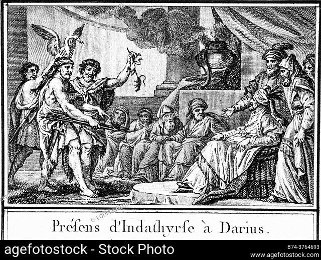 Scythian mythology, abbreviated editor of universal history 1850