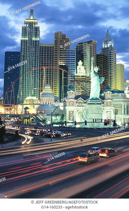 'New York, New York' Hotel & Casino. The Strip. Las Vegas . Nevada. USA