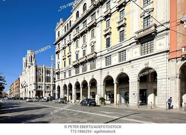 Palazzo del Municipio, Via Roma, Cagliari, Sardinia