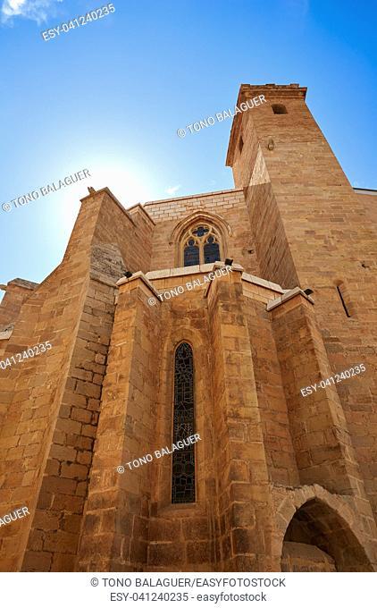 El Salavador church in Burriana of Castellon also Borriana