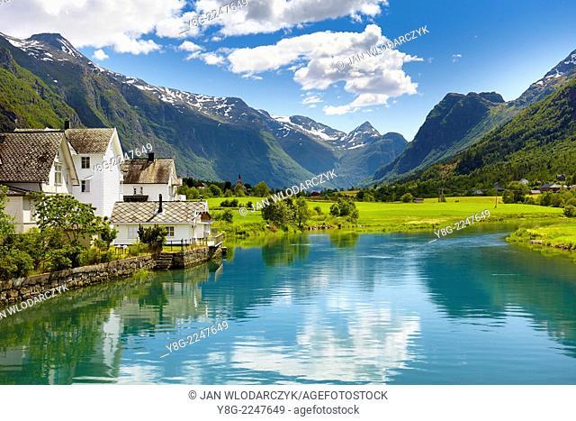Oldedalen valley, Norway